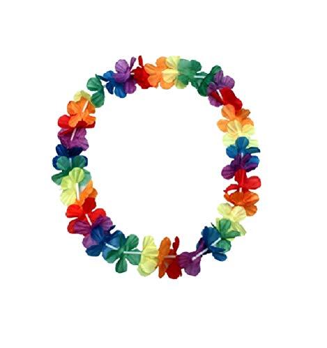 Sonnenscheinschuhe® Hawaii Blumenkette 96cm Halskette Fastnacht Sommer Party Deko Hawaiikette