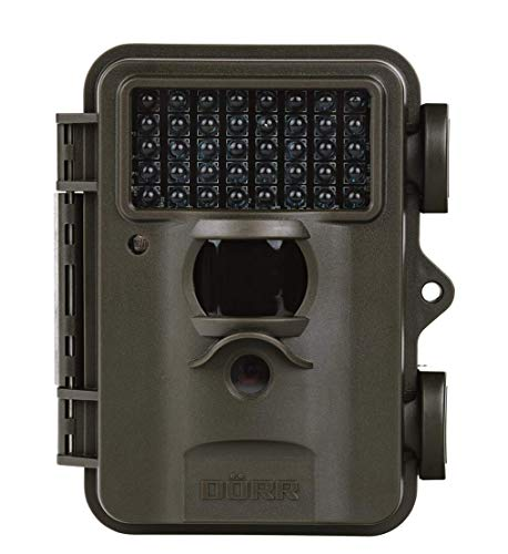 Dörr 204474 Innen & Außen Box Schwarz Sicherheitskamera - Sicherheitskameras (Innen & Außen, Box, Schwarz, IP54, 8 MP, 25,4/4 mm (1/4 Zoll))