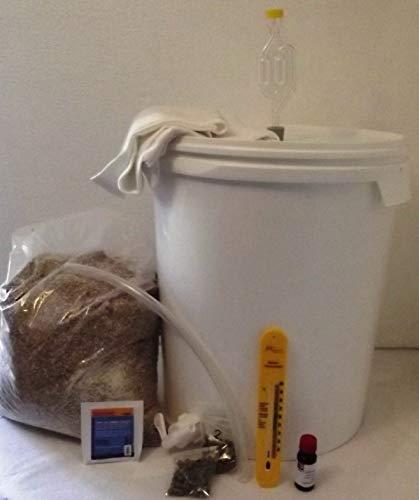 Nahrungsmittel-selbermachen Bier-Brauset für Pils, brauen Sie Ihr eigenes Bier mit Hopfen und Malz