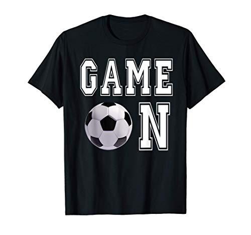 Juego de pelota de fútbol Día de juego lindo Deportes Atlet Camiseta
