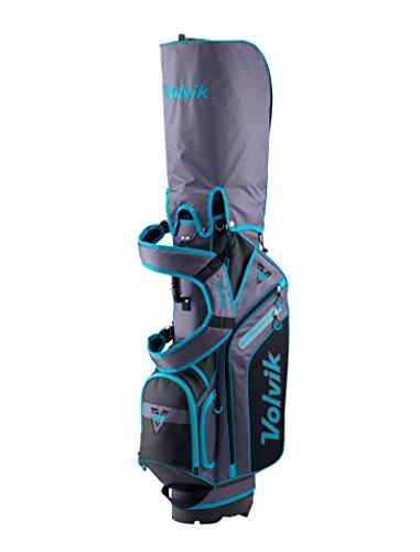 Volvik 20176-Way Sac de Golf trépied, Stand Bag, Green