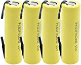 LqyKJas Lithium Ion Battery 18650 LithiumBattery35A3.7V 2500Mah Rechargeable Li-Ion Battery with Tabs for Flashlight 4Pcs-4Pcs