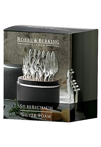 Robbe & Berking Silberpflegeserie - Silberschaum für versilberte und Silberne Bestecke. Leichte Reinigung ohne das Silber anzugreifen.