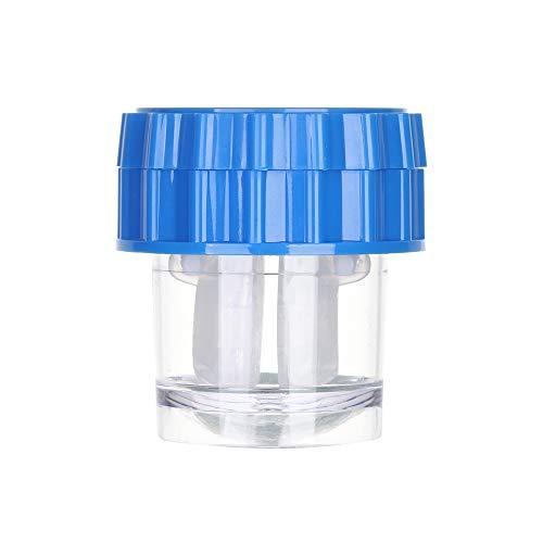 Fashion Manuell drehbare Reisebehälter für Kontaktlinsen, Kontaktlinsenbehälter, Gläser reinigen Gr. A, blau