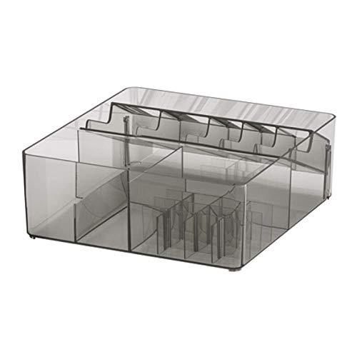 IKEA Godmorgon Caja con Compartimentos Ahumado 104.002.67 Tamaño 12 ½x11x4