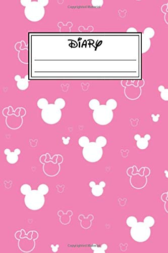 Diary: Mickey Mouse And Minnie Mouse Cartoon Character School Composition Notebook Journal, Sketchbook, Coloring Book, Comics, Calendar 2020, Sticker ... Activity Book, Gift For Kids, Girls, Boys