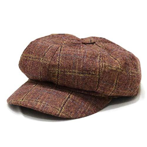 WAZHX Auutmn Winterhüte Für Frauen Solid Plain Octagonal Newsboy Caps Männer Damen...