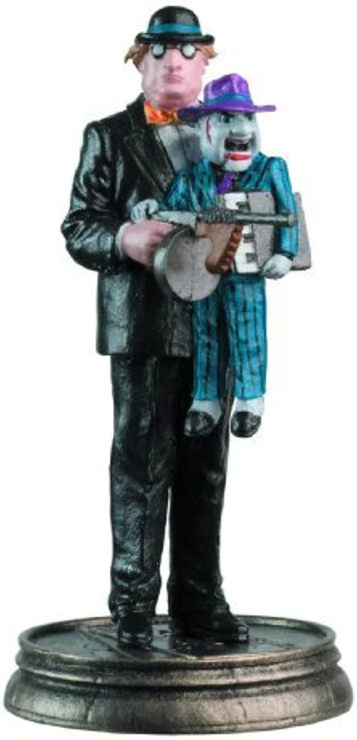 DC Chess Collector Figure & Magazine  29 Ventriloquist Black Pawn by Eaglemoss Publications