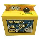 Hucha con minion electrónica para niños y adultos, con pata de Minion para monedas