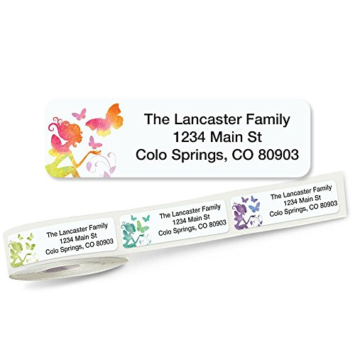 Fairy Rolled Address Labels (5 Designs) Roll of 250