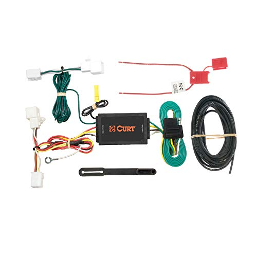CURT 56016 Vehicle-Side Custom 4-Pin Trailer Wiring Harness for Select Mazda 2, Mazda 5, Mazda CX-9