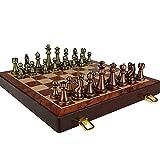 Bktmen Juego de ajedrez Conjunto de ajedrez Plegable de ajedrez...