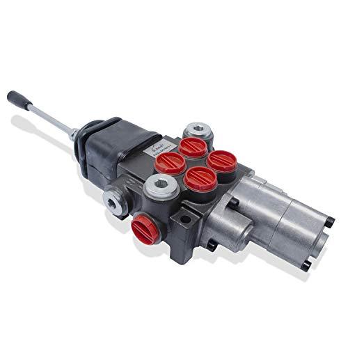 Hydraulic Control Valve Tractor Loader, Joystick, 2 Spool w/Single Float 11 GPM