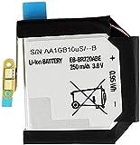 Backupower Batería de repuesto compatible con Samsung Galaxy S2 Gear, R720X, R732 Gear S2 R720 SM-R720, Gear S2 Classic SM-R732 EB-BR720ABE GH43-04532A AA11GA21uS/-B (3,8 V, 250 mAh)