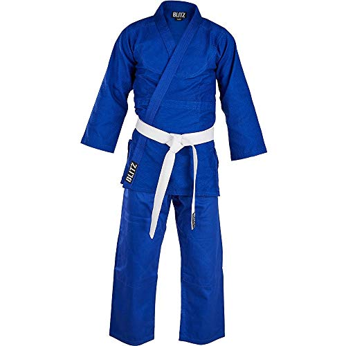 Blitz Middleweight Judoanzug, blau,...