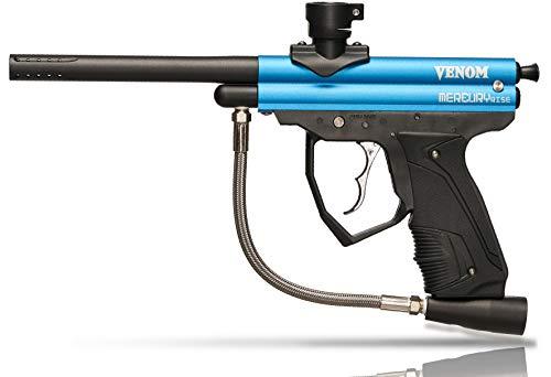 Mercury Rise Venom Semi Auto .50 Caliber Paintball Gun Marker (Blue)