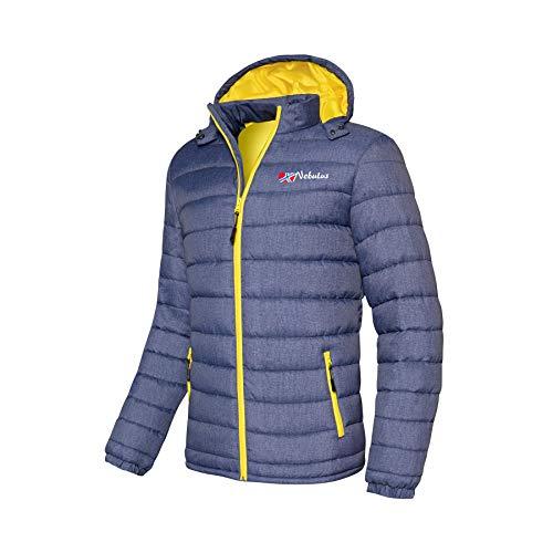 Nebulus Veste d'hiver pour homme Colors (modèle : P4847 - Homme, Navy, Taille : XXL) FBA