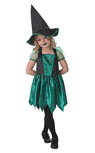 Disfraz de bruja para niñas pequeñas, disfraz oficial de Rubie's
