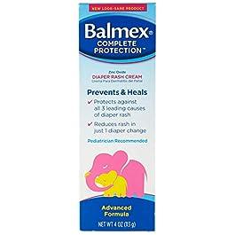 Balmex Diaper Rash Cream – 4 oz, Pack of 3