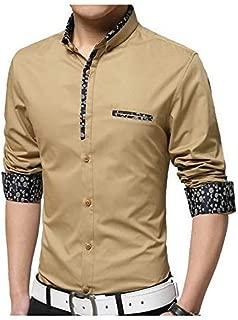 Sp Fashion Men's Cotton Casual Fancy Shirt for Men Full Sleeves