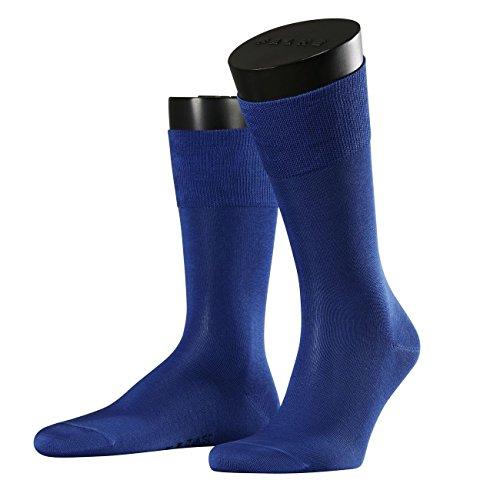 FALKE City Herren Socken Tiago 2er Pack, Größe:41/42;Farbe:saphire