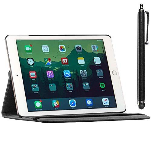 ebestStar - Funda Compatible con iPad Air 2, iPad 6 Carcasa Cuero PU, Giratoria 360 Grados, Función de Soporte + Lápiz,...