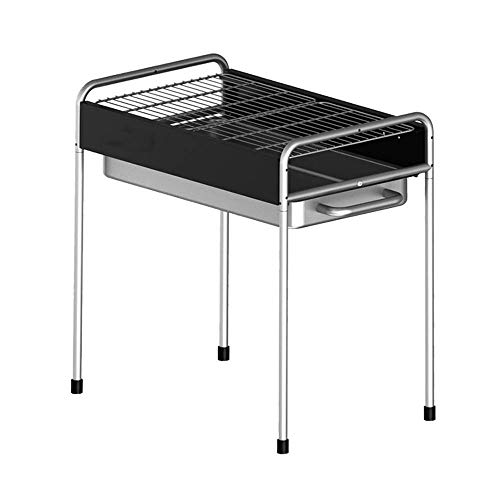 Buy Nhlzj BBQ Supplies/Barbecue Stainless Steel Barbecue Grill Outdoor Portable Charcoal Barbecue Ra...