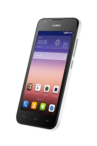 Huawei Ascend Y550 Smartphone (11,4 cm (4,5 Zoll) IPS-Display, 5 Megapixel-Kamera, 4GB Interner Speicher, Android 4.4) weiß