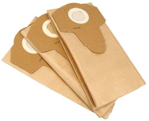 Draper Lot de 3 Sacs à poussière en Papier pour Outillage électroportatif WDV20ASS