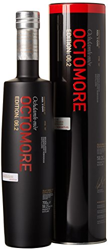 Bruichladdich Octomore 6.2 Ochdamh-mòr 167 ppm mit Geschenkverpackung  Whisky (1 x 0.7 l)