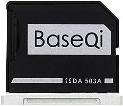 BASEQI Aluminum microSD Adapter for MacBook Pro 15