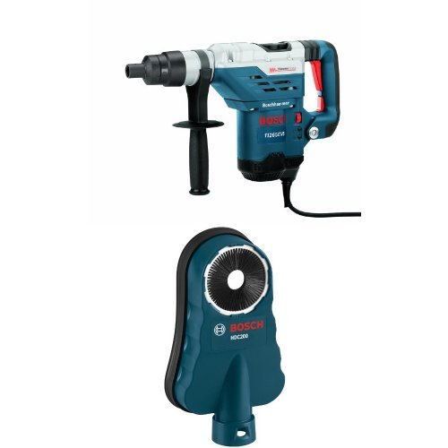 Great Price! Bosch 11265EVS 1-5/8 Spline Combination Hammer with SDS-Max HDC200 Dust Collection Attachment
