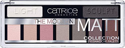 Catrice Collection Eyeshadow Palette, Lidschatten, Nr. 010 The Must-Have Matts, mehrfarbig, langanhaltend, matt, ohne Parfüm, ölfrei, ohne Alkohol (10g)