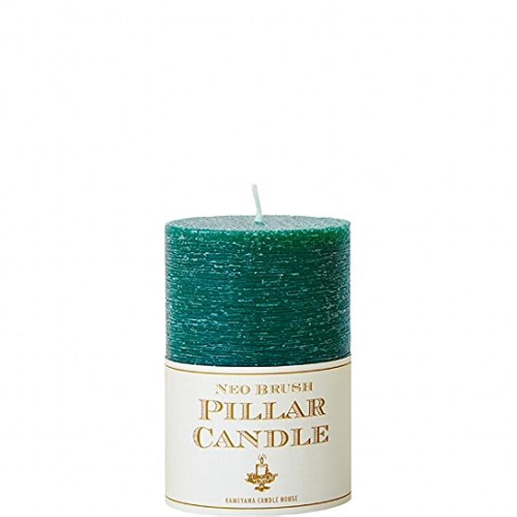 軽減する成人期疼痛カメヤマキャンドル(kameyama candle) ネオブラッシュピラーS キャンドル 「 グリーン 」 6個セット