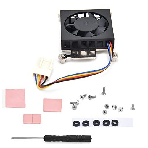 Ventilador de refrigeración de CPU Ventilador de CPU Bajo consumo de energía para Raspberry Pi 4B / 3B + / 3B