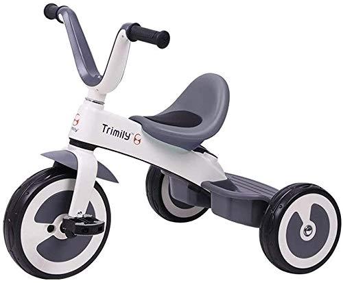 JINHH Carro Triciclo, Portátil Kid Niños De Bicicletas Alquiler Niños Y Seguridad 1/3/2/6 Años del Muchacho Y Coches Comodidad De Los Asientos 3 Color