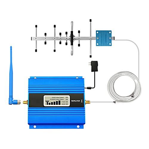ZXNQ Frecuencia única Amplificador de señal de teléfono móvil Repetidor de Refuerzo + Antena Interior - Superficie Cubierta: 50-200㎡,1800MHz