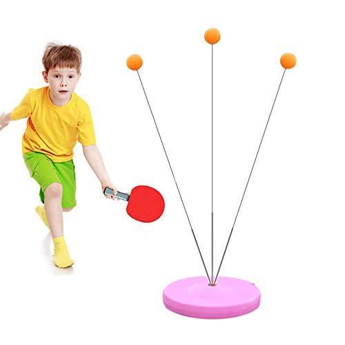 Tischtennis Trainer, Tischtennisball-Trainingsgeräte, Tischtennis-Trainingsset Mit Weicher Elastischer Trainingsachse Für Erwachsene Und Kinder Im Innen- Und Außenbereich