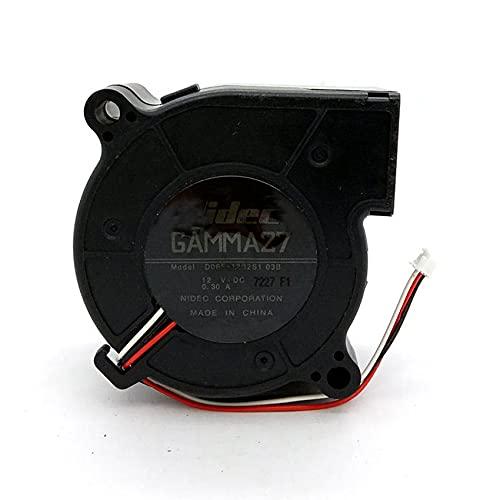 Cooling Fan for Nidec D06F-12B2S1 03B,DC12V 0.30A 60X30MM Blower fan