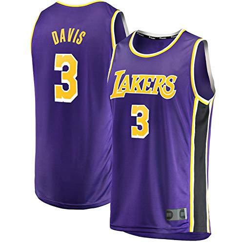 Camisetas de entrenamiento de baloncesto al aire libre NO.3 Púrpura, Juventud 2020 Finals Champions Fast Break Réplica de camiseta transpirable ropa deportiva para niños - Edición declarativa