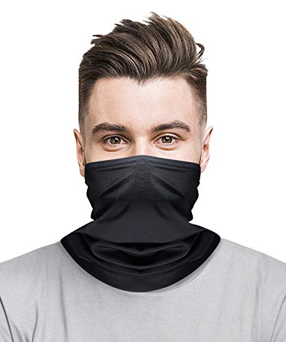 Fishing Cycling Running Hiking Breathable Lightweight Reusable face coverings Balaclava for Men Women TRUSCEND Neck Gaiter Face Covering Mask Scarf