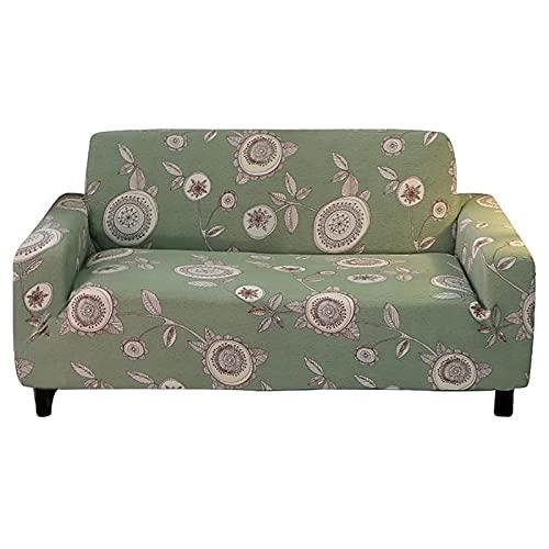 MKQB Funda de sofá elástica elástica para decoración del hogar, Funda de sofá Modular de Esquina, Funda de sofá Antideslizante Envuelta herméticamente NO.5 L (190-230cm)