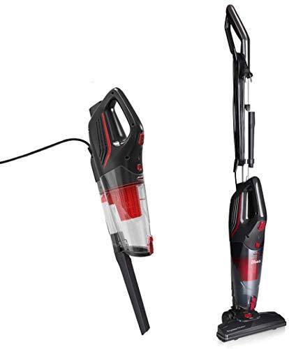 Dibea Staubsauger mit Kabel 15000Pa Leistungsstark 2 in 1 Beutellos Leichter Handstaubsauger Hepa Filter 1.0L Staubbehälter SC4588 Schwarz