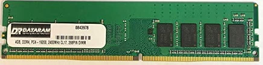 DATARAM 4GB DDR4 PC4-2400 DIMM Memory RAM Compatible with GIGABYTE GA-Z270-GAMING K3
