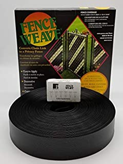 Pexco Fence Weave 250' Roll - Black - Made in The USA!
