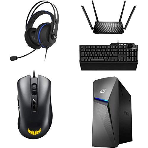 ASUS Gaming 福袋【入門5点セット】(デスクトップパソコン+マウス+キーボード+ヘッドセット+ルーター)