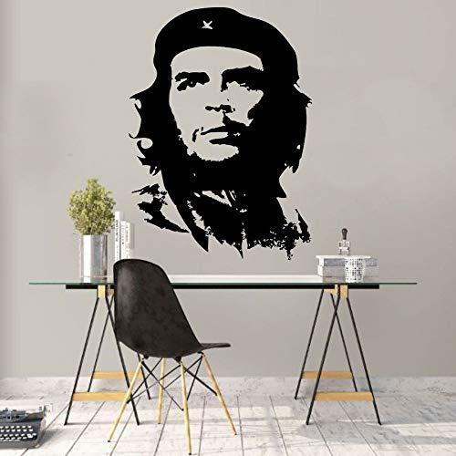 YuanMinglu Kubas berühmter revolutionärer Wandtattoo Aufkleber Künstler Home Decal 91x126cm