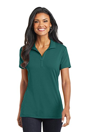 Port Authority Ladies Cotton Touch Performance Polo Shirt. L568 Lush Green 4XL