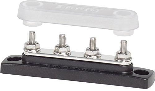 Mini-BUSBAR 4X10-32 100A W/COVR