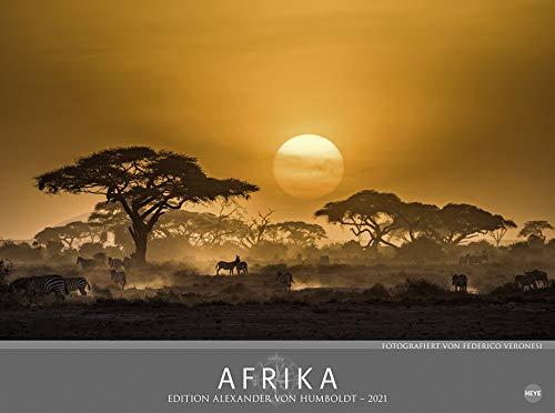 Afrika - Edition Alexander von Humboldt - Kalender 2021 - Heye-Verlag - Fotokalender mit wundervollen Landschaftsaufnahmen - Wandkalender 78 cm x 58 cm